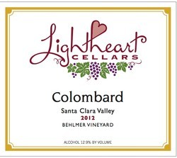 Lightheart Cellars 2012 Santa Clara Colombard