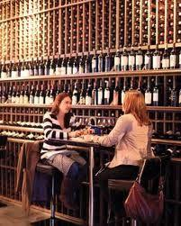 wine bars offer wide selection
